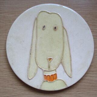 犬・猫用 ペット 陶磁器 鍋敷き