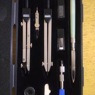 ウチダ製図器セット