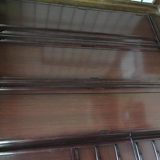 天然木製洋服ダンス 幅121×高179×奥61cmくらい クスノ...