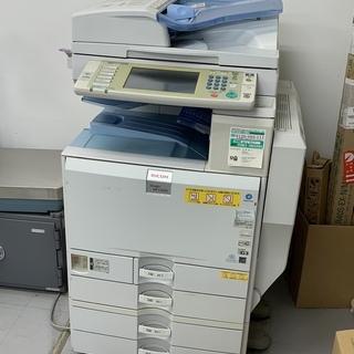 中古 リコー カラー複合機(コビー機) imagio MP C4...