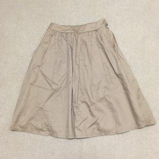 PLST膝丈スカート