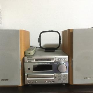 【ジャンク品】SONY CDMDコンポ