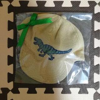 新品 クレードスコープ 恐竜ワッペンつき秋冬キャップ L 54-56