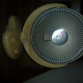 扇風機型ハロゲンヒーター