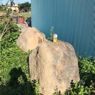 庭石。土留め