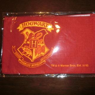 ハリーポッターのタオルです。