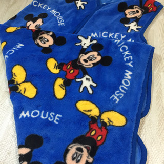 ミッキー毛布