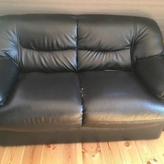 初めての投稿。古いソファー