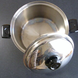 ステンレス製 両手鍋 未使用