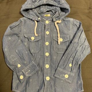 Right-on ライトオン フード付きシャツ 100 美品