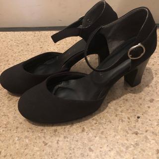 黒 パンプス 超美品 22.5cm