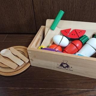 Sweet Little Chef★サクッと切れるままごと木箱い...