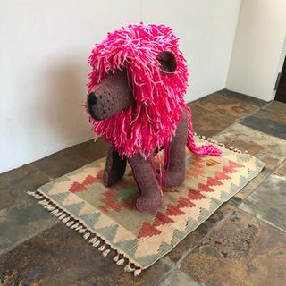 メキシコの民芸品 巨大 アニマリート ライオン
