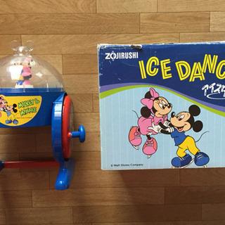 家庭用氷かき器 Micky Minnie