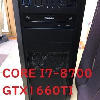 【新品】ゲーミングパソコン Core i7-8700、GTX16...