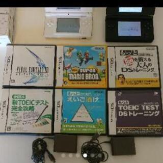 ニンテンドー DS Lite 2台 ソフト6本セット