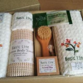 ◆ Basic Lien タオル&ソープ セット◆ギフト新品