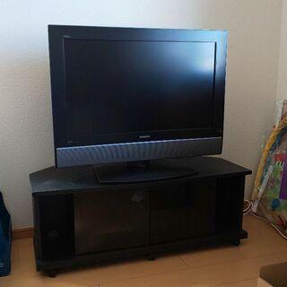 TV 32型 TV台 セット