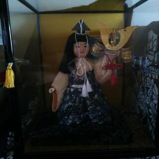 五月人形(ガラスケース入り)