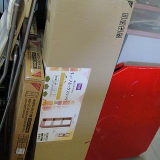 未使用 キューブボックスラック 固定棚 シェルフ 収納棚 オーク...