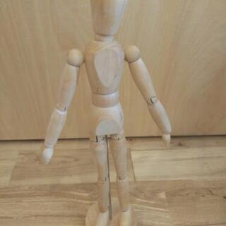IKEA 木製 デッサン人形
