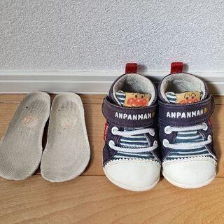 【中古】アンパンマン★子供靴 12cm