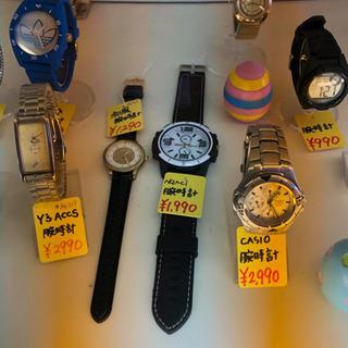 腕時計電池交換 600円(税込)でいたします。G-SHOCKは1000円(税込)です【買取&販売もしております。宮本リサイクル】 - リサイクルショップ