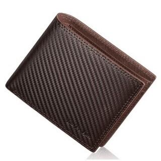 【新品・未使用】二つ折り 財布 メンズ 本革 薄型 カード収納 ...