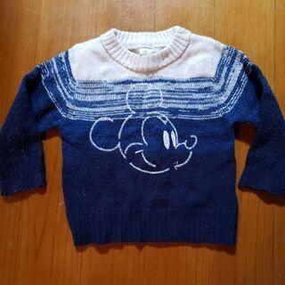 ミッキー 冬 セーター