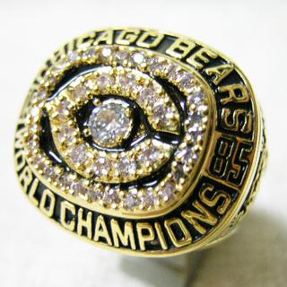 チャンピオンリング 1985年 Chicago Bears シカ...