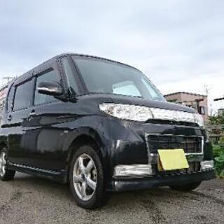 札幌 H22 ダイハツ タント カスタム 車検令和3年10月 格...