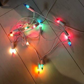 クリスマス 電球