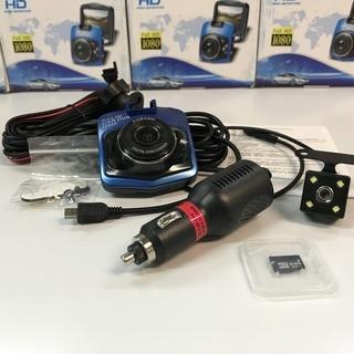 ☆彡 最新の高画質ドライブレコーダー!リアカメラとマイクロSDも...