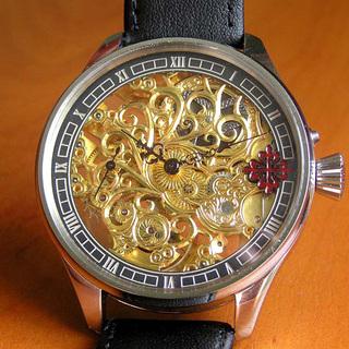 下取&値引き交渉あり 1876年 パテックフィリップ懐中時計のム...