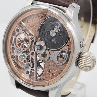 下取値引き交渉あり 1900年 バセロンコンスタンチン懐中時計の...