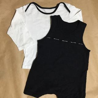 ロンパース シャツ コムサ デ  モード サイズ80