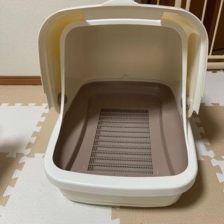 猫トイレ デオトイレ 猫用トイレ本体 フルカバー本体 ユニチャーム