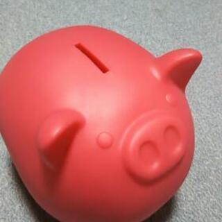 ぶたの貯金箱