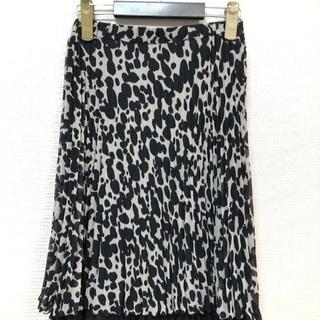 グレー色のスカート2点セット