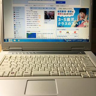 完了、FUJITSU ノートPC FMV-BIBLO NF50W...