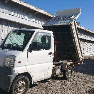 軽トラダンプ❗三菱ミニキャブトラック パートタイム2WD→…