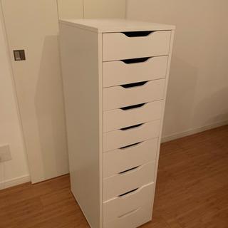 IKEA ホワイト 書類棚の画像