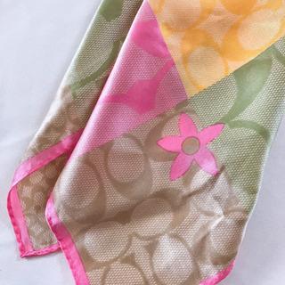 ◇COACHスカーフ美品◇