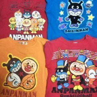 【お取引中】◆アンパンマン◆トレーナー4枚セット◆90.95㎝◆