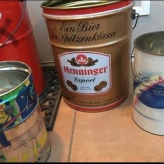 ふたつきの缶、3個セット