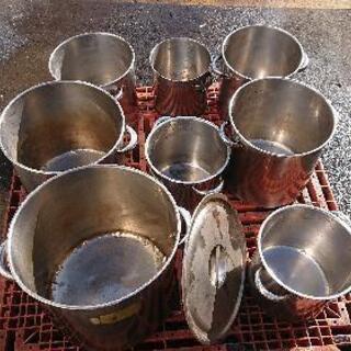 業務用鍋8個セットジャンク