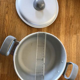あげます。20センチ両手鍋