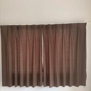 ニトリのカーテン縦150×横100 カーテン2枚レース2枚 カー...