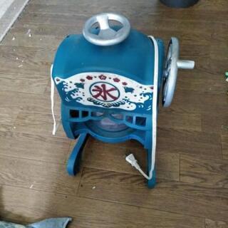 ドウシシャかき氷機