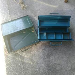 中古 道具箱 ツールボックス 2点セット